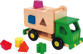 Discoveroo Truck Garbage Shape Sorter