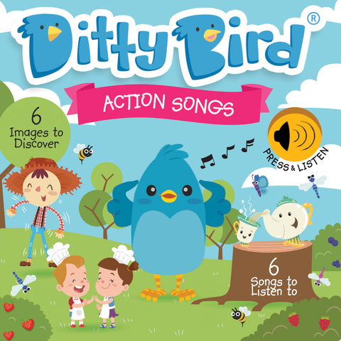 Ditty Bird Action Songs Board Book 6
