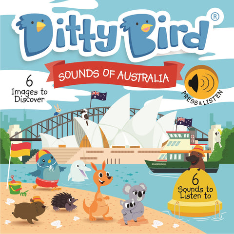 Ditty Bird Sounds of Australia Board Book