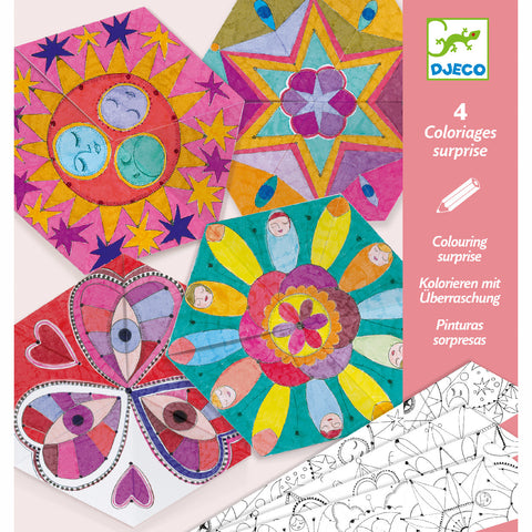 Djeco Colouring Surprises Constellation 4 designs
