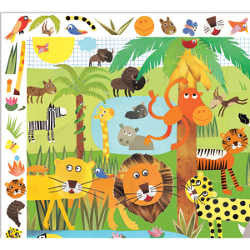 Djeco Puzzle Observation Jungle 35pc - K and K Creative Toys