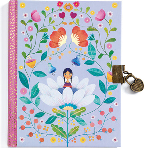 Djeco Secret Notebook Marie with Lock and Key