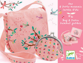 Djeco Bag and Purse Summer Garden - K and K Creative Toys