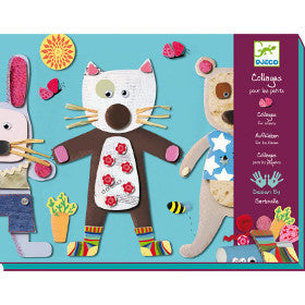 Djeco Collages for Little Ones - K and K Creative Toys