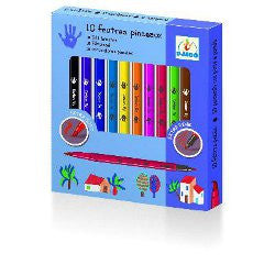 Djeco Felt Brushes Classic - K and K Creative Toys