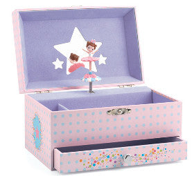 Djeco Jewellery Box Musical Ballerina - K and K Creative Toys