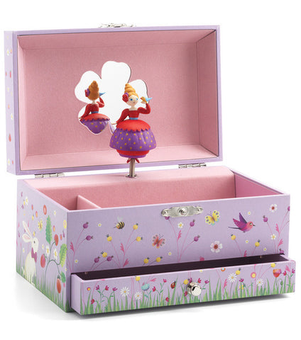 Djeco Jewellery Box Musical Princess