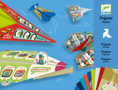 Djeco Origami Air Crafts - K and K Creative Toys