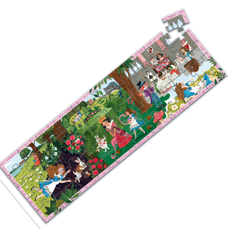 Djeco Puzzle Alice in Wonderland 50pc 1