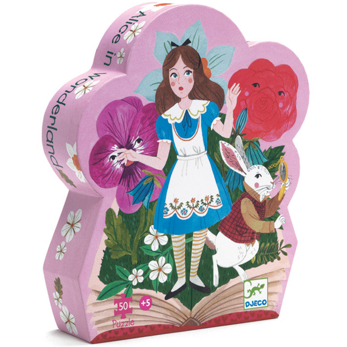 Djeco Puzzle Alice in Wonderland 50pc