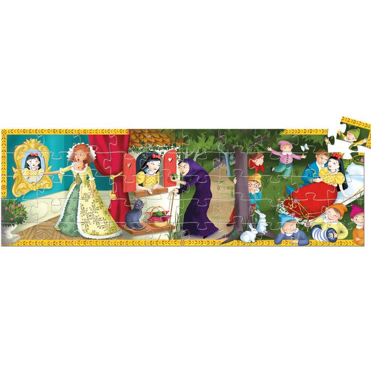 Djeco Puzzle Snow White 50pc - K and K Creative Toys