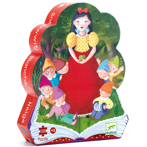 Djeco Puzzle Snow White 50pc