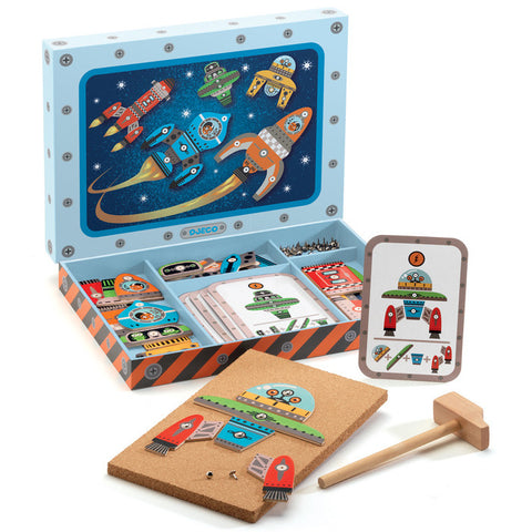 Djeco Tap Tap Space - K and K Creative Toys