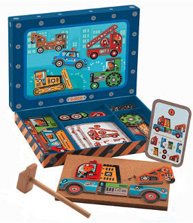 Djeco Tap Tap Vehicles - K and K Creative Toys