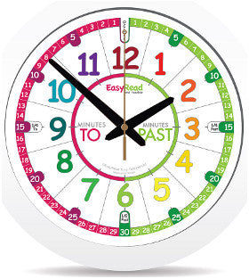 Easy Read Time Teacher Clock - K and K Creative Toys