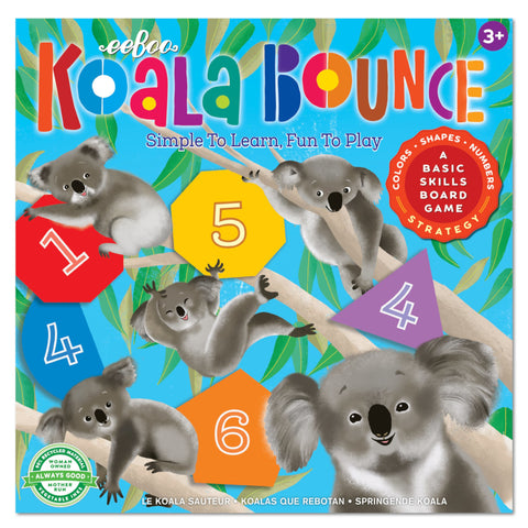 Eeboo Koala Bounce Board Game