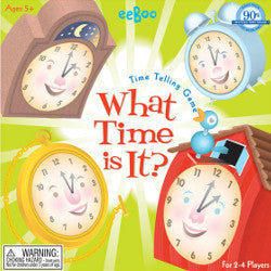 Eeboo Time Telling Game - K and K Creative Toys