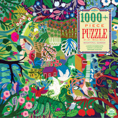 Eeboo Puzzle Bountiful Garden 1008pc