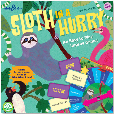 Eeboo Sloth in a Hurry Game - K and K Creative Toys