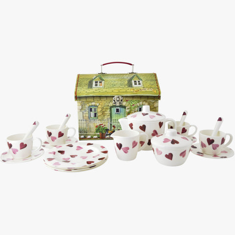 Emma Bridgewater Hearts House Tea Set Melamine