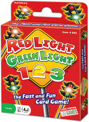 Endless Games Red Light Green Light Card Game - K and K Creative Toys