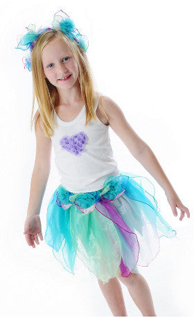 Fairy Girls Dress Up Pixie Skirt Pastel