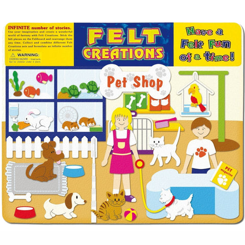 Felt Creations Pet Shop