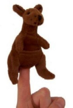 Animals of Australia Finger Puppet Kangaroo
