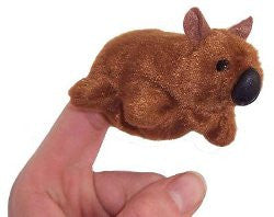 Animals of Australia Finger Puppet Wombat