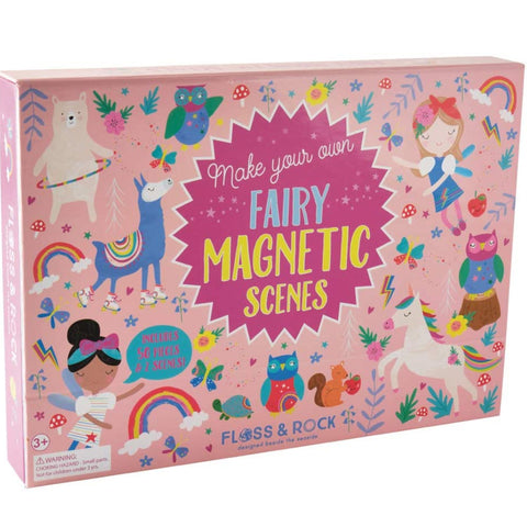 Floss & Rock Magnetic Scene Rainbow Fairy