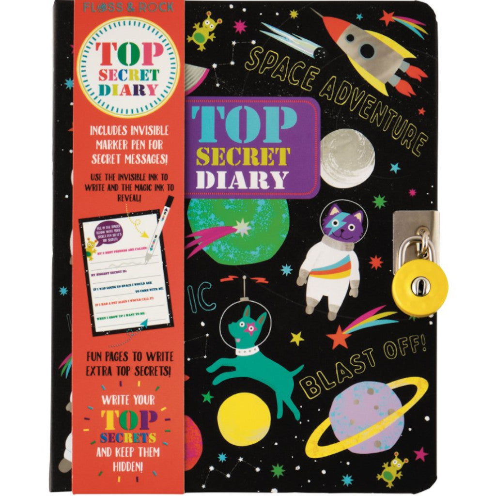 Floss & Rock Top Secret Diary Space