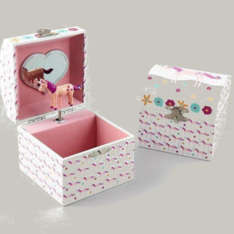 Floss & Rock Jewellery Box Musical Unicorn