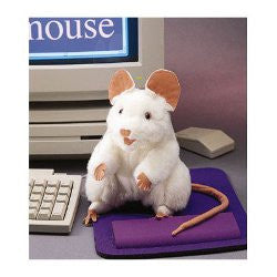 Folkmanis Hand Puppet Mouse - K and K Creative Toys