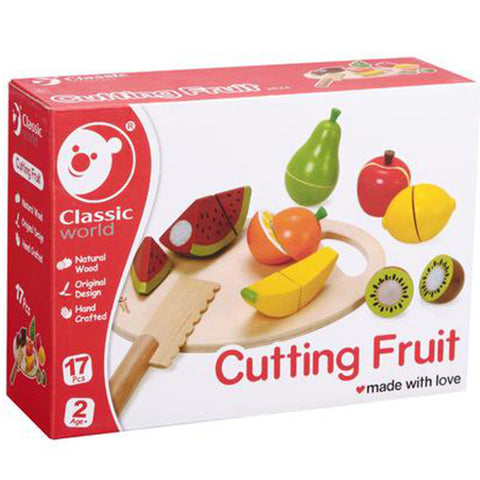 Classic World Cutting Fruit Wooden
