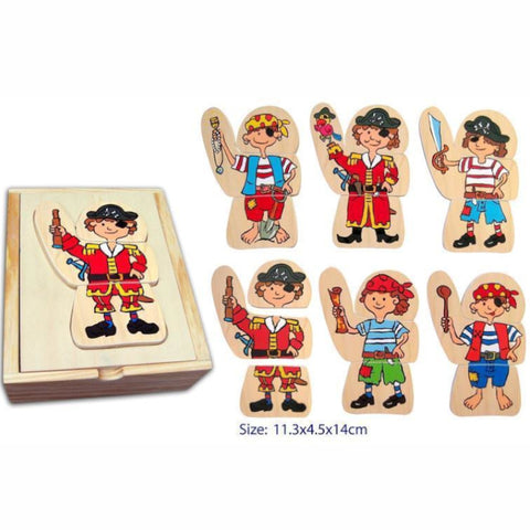 Fun Factory Puzzle Dress Up Pirate