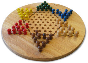 Fun Factory Chinese Checkers Game