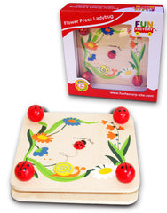 Fun Factory Flower Press Lady Bug - K and K Creative Toys