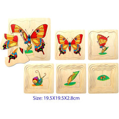 Fun Factory Puzzle Butterfly Layered 5 Layers