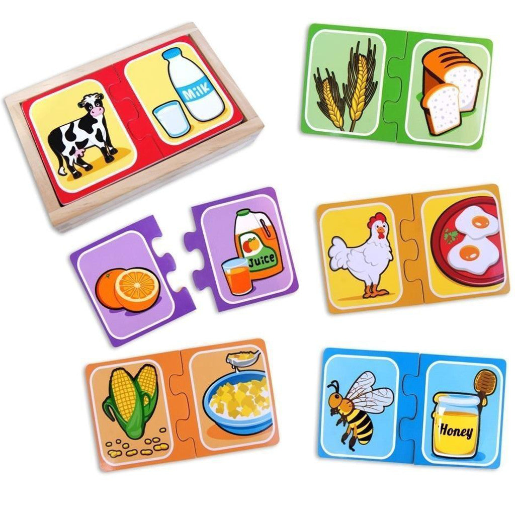 Fun Factory Puzzle Make a Pair - K and K Creative Toys