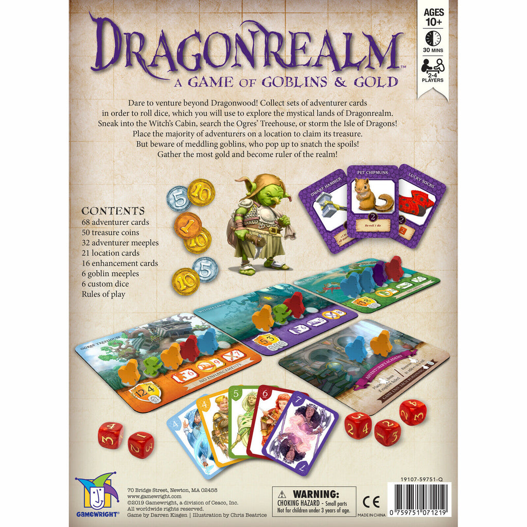 Gamewright Dragonrealm Game 2