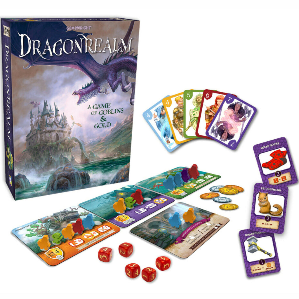 Gamewright Dragonrealm Game