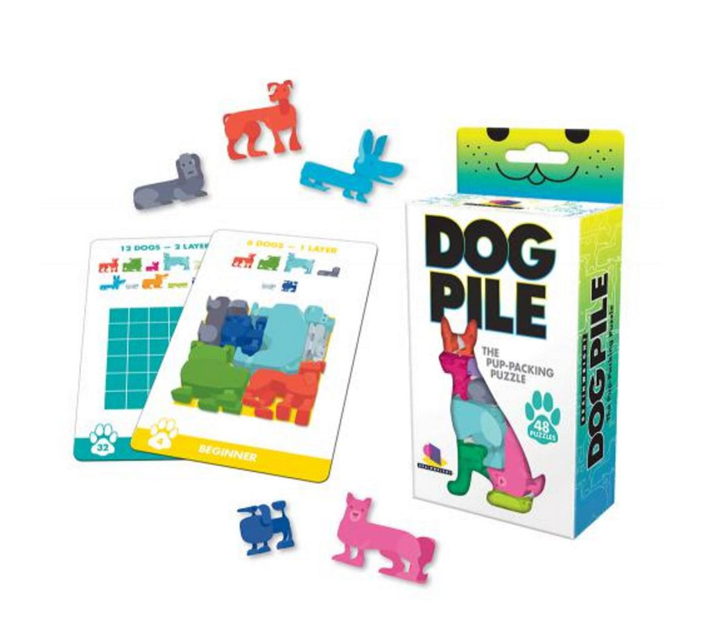 Gamewright Dog Pile Puzzle Game - K and K Creative Toys