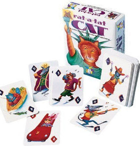 Gamewright Rat a Tat Cat Card Game - K and K Creative Toys