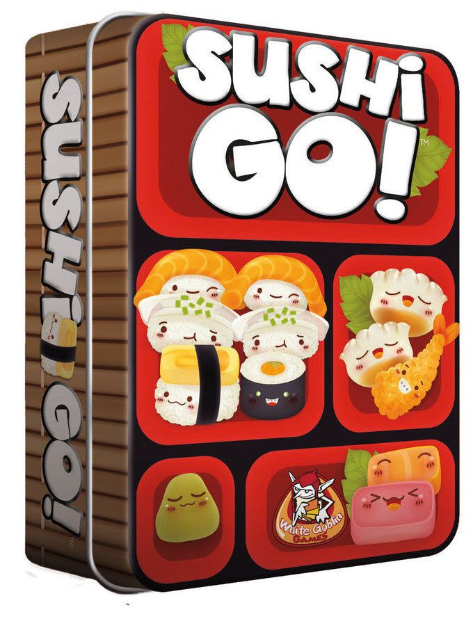Gamewright Sushi Go in Tin - K and K Creative Toys