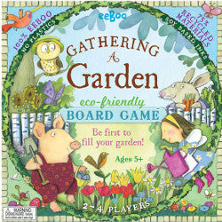 Eeboo Gather a Garden Board Game