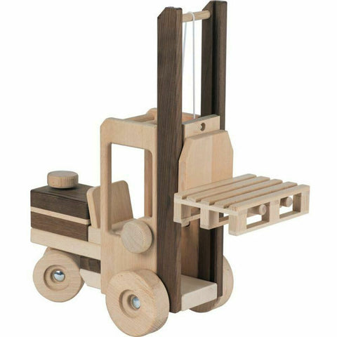 Goki Forklift Truck Natural Colours