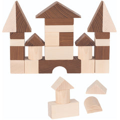 Goki Blocks Nature Wooden 30pc