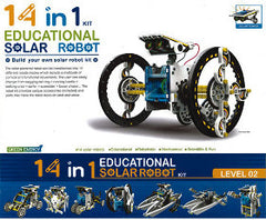 Green Energy Educational Solar Robot 14 in 1