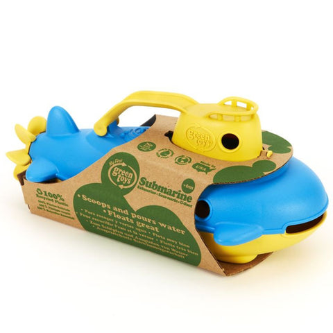 Green Toys Submarine Yellow Cabin