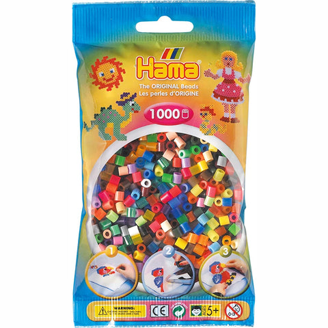 Hama Beads Bag All Colours 1,000